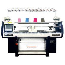 Máquina de confecção de malha tipo plano para sapato superior