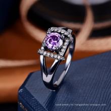Las mujeres al por mayor de la joyería del anillo de China muestran diseños del anillo de bodas
