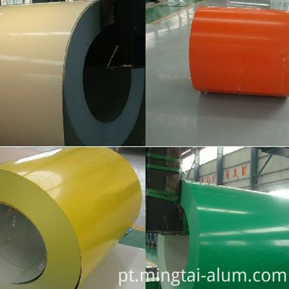 color coated aluminum sheet panel price