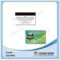 Carte transparente en plastique visitant de PVC de jet d'encre de carte de visite en plastique faite sur commande