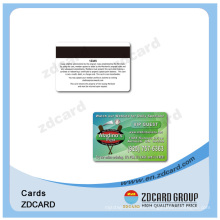 Plastic PVC NFC Transparent Business Cards