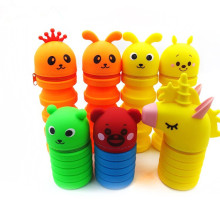 Silicone Pencil Bag Stand Up Pen Case