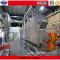 Vibrating Fluid Bed Dryer for Polypropylene