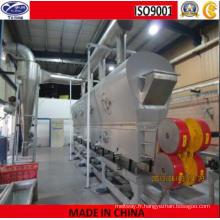 Machine de séchage de lit fluide vibrant de chlorure de calcium