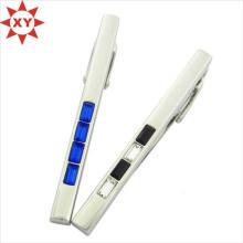 Горячий Новый пользовательский дизайн Посеребренная обычная зажимы для галстуков (ху-MXL73007)