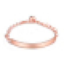 Women′s Rose Gold Plated Heart-Shaped Bracelet