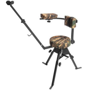 Swivel Hunting Chair with Shooting Rest
