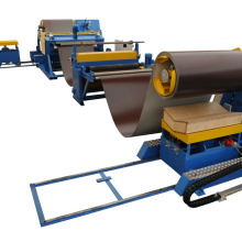 2mm slitting cutting machine line with recoiler