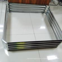 Galvanized sheet garden beds for outdoor planting