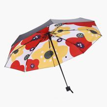 Popular Hot Sale Mini 5 Folding EVA Case Pocket Umbrella for Promotion