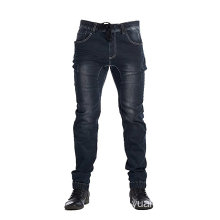 Dark Indigo Herren Active Elastic Jean Slim Fit