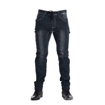 Dark Indigo Men Active Elastyczny Jean Slim Fit