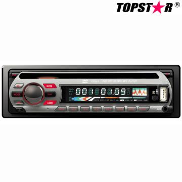 Un reproductor de DVD fijo del coche del panel fijo Ts-6004f