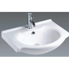 Sanitary Ware Top Mounted Ceramic Bathroom Wash Basin (B850)