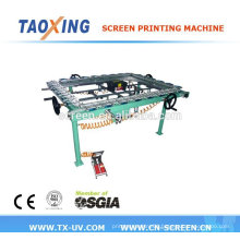 lower price high quality mesh stretching machine
