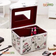 3 dans 1 Set en aluminium bon marché personnalisé de boîte de maquillage (SACMC070)