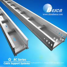 Aluminum AL Cable Tray with ladders covers Manufacturer