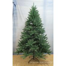 Revolving Green Fiber Optic Artificial Christmas Tree
