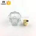 Diseño rellenable de 80 ml de su propia botella de perfume personalizada de vidrio