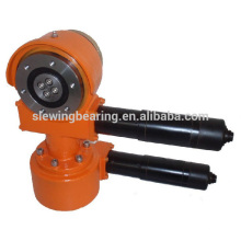 Wanda special SDE3 slewing drive with dual motor