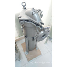 Single Bag Filter Housing for Industrial Liquid Treatment