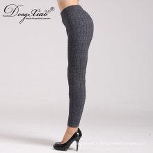Chine Pantalon ou pantalon de laine de laine de Worsted les plus récentes de style de femmes