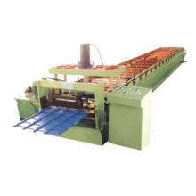 Máquina perfiladora de tejas esmaltadas de acero galvanizado con control informático