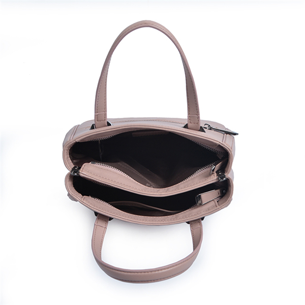 Stylish handbags woman, green leather pure handbags leather