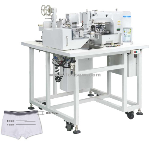automatic-elastic-tape-splicing-sewing-machine