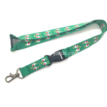 "3/4"" Screen Printed Lanyards With Customized Logos"