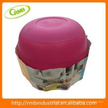Boîte de rangement / bol en plastique