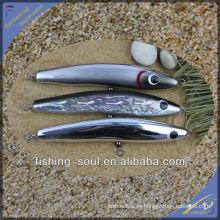 WDL008 14cm 30g, 16cm 50g, 18cm 80g, 22cm 110g Señuelo de pesca de mar de calidad perfecta