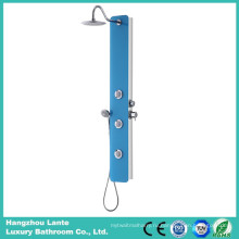 Безопасная стеклянная душевая панель с массажными струями (LT-B732)
