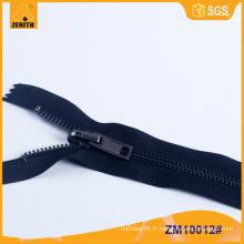 Fermeture à glissière métallique avec silencieux réversible ZM10012