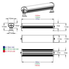 IP65 Aluminum Tri-Proof LED Tube Light for Warehouse Lighting
