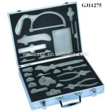 starke & tragbaren Aluminium Werkzeugkoffer mit benutzerdefinierten Schaumstoffeinlage in Hersteller