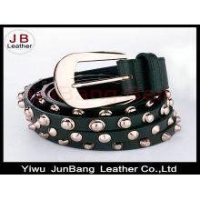 Dresses for Woman Fashion Rivet Belt