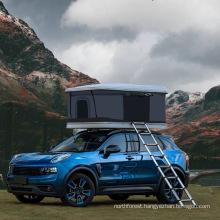 Waterproof Canopies Geodesic 2 Doors Car Camper Trailer Vehicle Top Camping Roof Tent