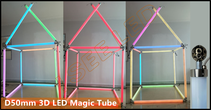 3D Magic Tube Lights
