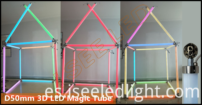 DMX Meteor Tube Light