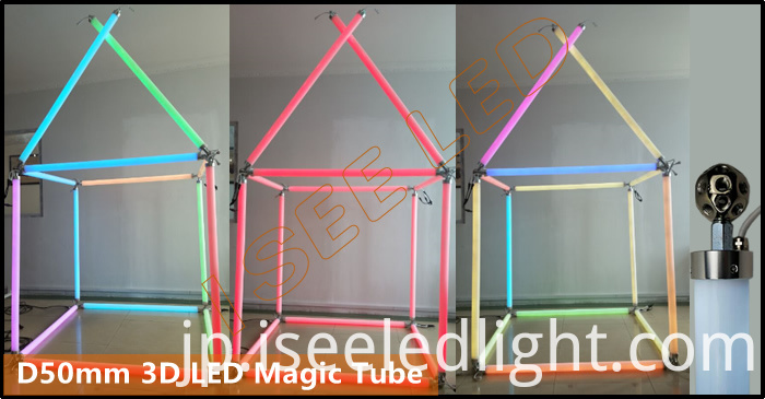 Magic DMX512 RGB Tube Light