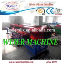 PVC corrugated pipe making extruder machine