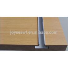 slatwall slot mdf/slotted groove mdf board