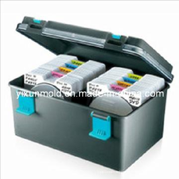 Molde de injeção de caixa de armazenamento CD plástico