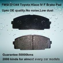 D1344 OE Qualität Toyota Hiace Bremsbelag