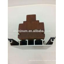 wooden aluminum window frame profiles