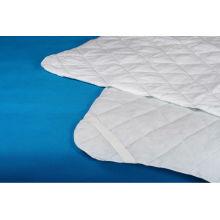 protetor de colchão de algodão poli hotel hospital acolchoado