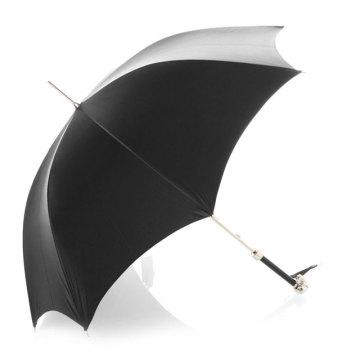 Ручной открытый зонтик с черным штреком (BD-52)