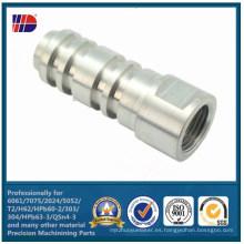 Piezas de aluminio del router del CNC para el equipo mecánico