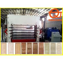 Formen hölzerne Türpresse Maschine / 1200tons Türhaut heiße Presse / Türverkleidung Maschine